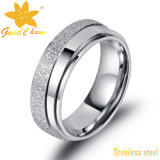Exsr53b 고품질 형식 현대 로즈 금 스테인리스 반지