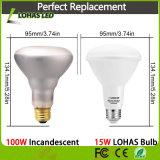 Ampoule chaude d'éclairage LED de la vente Br20 Br30 15W 20W