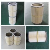 Filtre transversalement installé de cartouche de collecteur de poussière