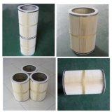 Quer installierter Staub-Sammler-Kassetten-Filter