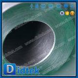 Didtekの石油およびガスのフランジの終わりのPTFEによってつけられている浮遊球弁