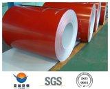 De kleur bedekte de Gegalvaniseerde Rollen van het Staal met een laag (PPGI/PPGL)