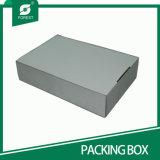 上の販売のカスタム印刷を用いる波形の黒い靴箱