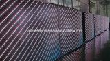 P12 옥외 풀 컬러 곡선 LED 표시 공장