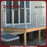 스테인리스 갑판 철사 Railling 또는 계단 방책 (DMS-B2508)