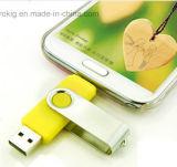 Movimentação colorida do flash do USB do OEM OTG