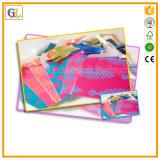 Tarjeta de la impresión para