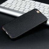 New Litchi Grain Ultra Thin TPU Housse Protective Shell