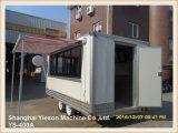 Доставка с обслуживанием Van тележки быстро-приготовленное питания сбывания Ys-400A горячая