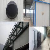 Edificio prefabricado del almacén de la estructura de acero para el almacenaje