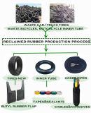 Proceso de producción de caucho recuperado
