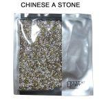 Do cristal traseiro do Rhinestone do ponto pedras chinesas do vidro do Ab AAA