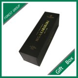 Kundenspezifischer schwarzer Schmucksache-Fantasie-Papppapier-Geschenk-Kasten