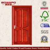 Sapele MDFのベニヤの木のドア(GSP6-011)