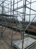 Échafaudage Cuplock galvanisé de haute qualité pour la construction