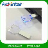 Schlüsselform USB-Speicher-Stock Kristall-USB-Blitz-Laufwerk