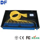 divisore ottico del PLC della fibra del contenitore di ABS di 1X8 Pon con il connettore di St/Sc/FC/LC