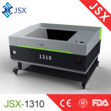 Tela de cuero de acrílico Jsx1310 que talla el laser del CO2 que talla la máquina