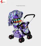 Foldableベビーカーのタイプ赤ん坊の手押車キャリッジ