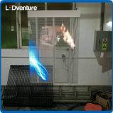 Schermo di visualizzazione trasparente del LED di colore completo per l'introduzione sul mercato di marca delle facciate