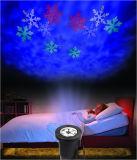 Indicatori luminosi 2017 di natale bianchi caldi del laser della neve di colore della neve di vendita diretta della fabbrica dei prodotti esterni