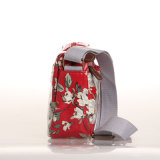 (99032-6) Wasserdichtes Belüftung-Segeltuch-Blumenmuster-Dame Handbag