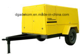 Draagbare Compressor van de Lucht van de Schroef van de Dieselmotor van de hoge druk de Mobiele (PUD04-08)