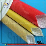 SGS, UL, Norm-Polyurethan-Fiberglas, das für Verkabelungs-Isolierung Sleeving ist