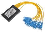 Faser der ABS 1X2/1X4/1X8/1X16/X1X32/1X64 Kassetten-FTTH Optik-PLC-Teiler