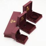 Пластичная коробка Jewellery кольца побрякушки драгоценности бархата (J51-E1)