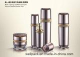 De nieuwe Kruik van &Lotion van de Fles van de Lotion Saquare & de Trommelvormig &Newoval AcrylKruik van de Fles van de Lotion van &Mushroom Acryl &Cream