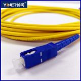 Rivestimento di simplex 3mm 3m LSZH dello Sc-Sc MP del cavo di zona della fibra