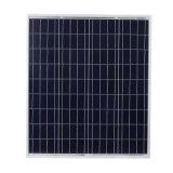 panneaux solaires de silicium polycristallin de 18V 75W