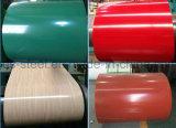 Mercado de popularidad de los productos de mayor venta en color recubierto de cubierta de galvanizado corrugado