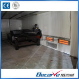 Cnc-Fräser-Maschine für hölzernes kupfernes Aluminiumacryl