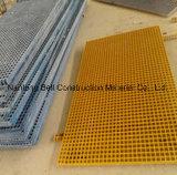 Reja superventas de los productos FRP del mundo, reja de la fibra de vidrio, Pultruded, moldeado