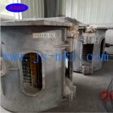Используемая печь индукции частоты средства плавя с пробкой Orundum высокой очищенности