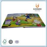 livres de livre À couverture dure 3D lenticulaires pour des enfants
