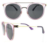 Sonnenbrille-späteste Frauen-Sonnenbrille-kundenspezifische Firmenzeichensun-Gläser des Cer-UV400
