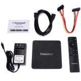 Caixa original da tevê de Bluetooth 4.0 do núcleo do quadrilátero de Tronsmart Vega S95 Telos S905
