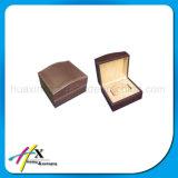 Kundenspezifischer hoher Glanz lackierter einzelner hölzerner Uhr-Kasten mit Kissen