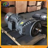 Motor elétrico industrial com caixa de engrenagens