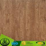 Papel decorativo del grano de madera para los muebles, tarjeta incombustible, MDF, HPL