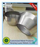 Peça de alumínio feita sob encomenda do giro de metal