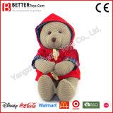 ASTM encheu o urso do presente do brinquedo com pano