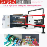 Fhqe-1300 BOPP de alta velocidad que corta y rebobina la máquina