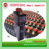 エンジン開始のためのHengming NiCd電池Gnc60 1.2V 60ah Kpxシリーズか超高速またはアルカリ充電電池および焼結させた陽極電池