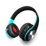 La plupart d'écouteur populaire de Bluetooth avec les écouteurs sans fil du joueur MP3 radio fm pour l'exécution