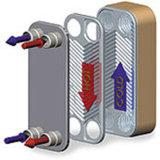 Паяемый тип конденсатор плиты нержавеющей стали