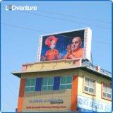 Panel de LED a todo color de gran tamaño para publicidad, marcador, medios de comunicación al aire libre